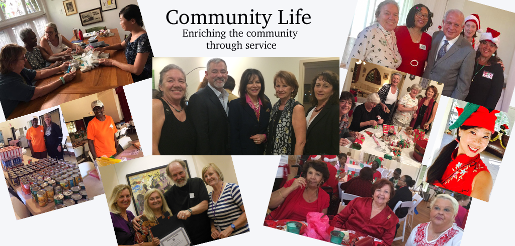 Community Life Collage